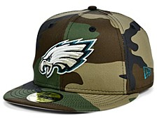 Philadelphia Eagles Woodland 59FIFTY Cap
