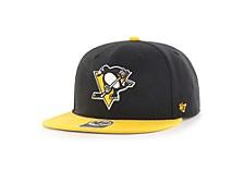 Pittsburgh Penguins No Shot Team Color 2-Tone Snapback Cap