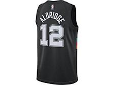 San Antonio Spurs Men's City Edition Swingman Jersey - Lamarcus Aldridge