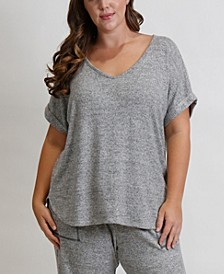 Women's Plus Size Cozy Tee