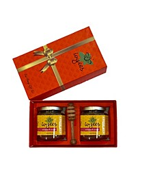 Hibiscus Sorrel Honey Gift Set, 2 Piece