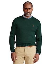 Men's Cotton Crewneck Sweater