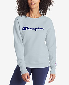 Women's Applique Logo Sweatshirt
