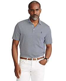 Men's Classic-Fit Soft Cotton Polo Shirt