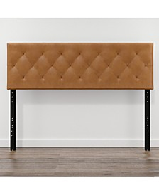 Adjustable King Size Faux Leather Headboard
