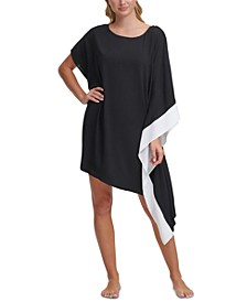 Asymmetrical Kaftan Cover Up Dress