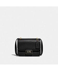 Alie Shoulder Bag In Soft Pebble Leather