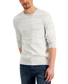 Men's Low Tide Striped Crewneck Sweater, Created for Macy's