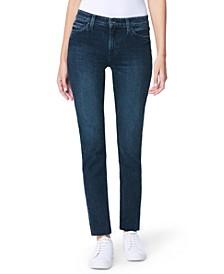 Lara Raw-Hem Ankle Jeans