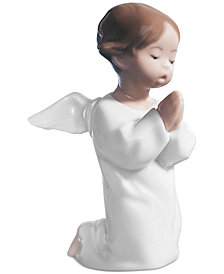 Lladro Collectible Figurine, Angel Praying