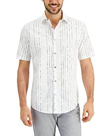 Men's Matrix Dot Shirt, Created for Macy's