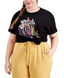 Trendy Plus Size Cotton Disney Villains T-Shirt