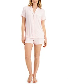 Super Soft Modal Top & Shorts Pajama Set, Created for Macy's