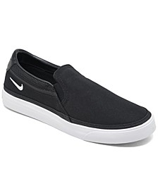 Women's Court Legacy Slip-on Casual Sneakers from Finish Line