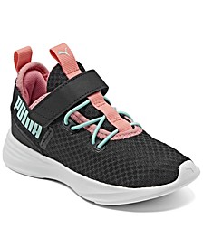 Little Girls Throttle Stay-Put Casual Sneakers from Finish Line