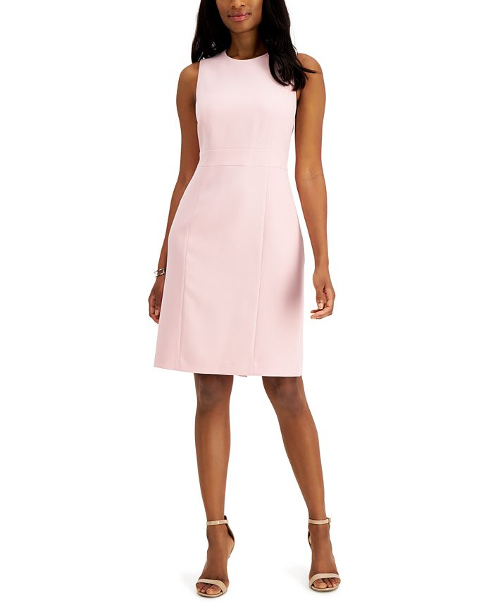 Alyx Cap-Sleeve Dotted Dress - Petite - jcpenney | Petite