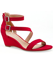 Jessie Wedge Sandals, Created for Macy's