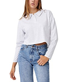 Women's Ryan Long Sleeve Polo T-Shirt