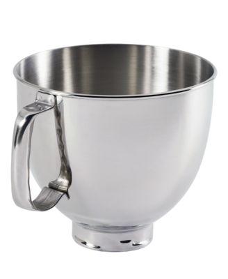 Amazing KitchenAid K5THSBP Artisan 5 Qt. Polished Stainless Steel Stand Mixer Bowl