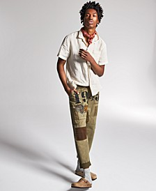 Ouigi Theodore for Men's Patch Graphic Pants, Created for Macy's