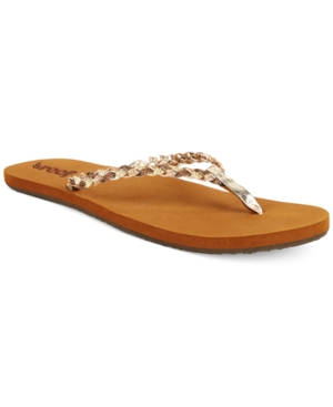 Reef Twisted Stars Flip Flops Women's Shoes