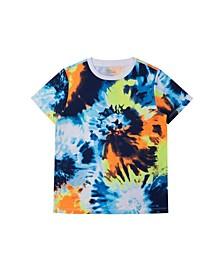 Big Boys All Over Tie Dye T-shirt