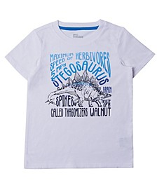 Toddler Boys Short Sleeve Graphic with Text T-shirt