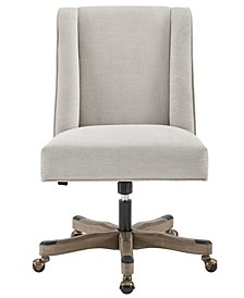 Wells Upholstered Swivel Office Chair