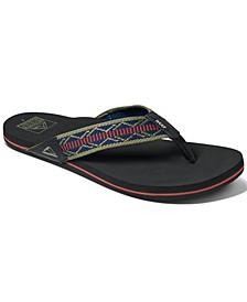 Men's Newport Woven Flip Flops
