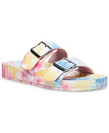 Teddy Footbed Sandals