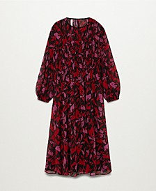 Women's Floral Print Dress