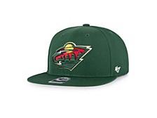 Minnesota Wild No Shot Snapback Cap