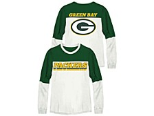 Green Bay Packers Women's Comeback Crew Shirt