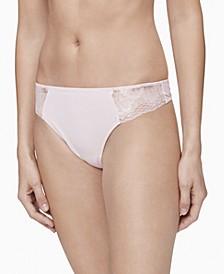 Women's Hibiscus Lace Thong Underwear