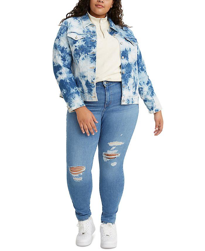 Levi's - Trendy Plus Size 721 High-Rise Skinny Jeans