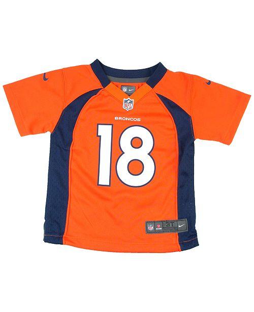Nike Baby Peyton Manning Denver Broncos Game Jersey - Sports Fan ... ead84882a