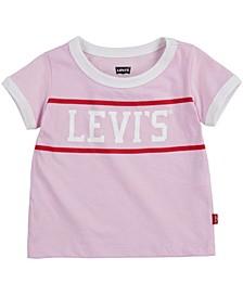 Little Girls Ringer T-shirt