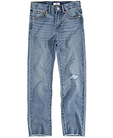 Little Girls Ribcage Straight Ankle Jeans