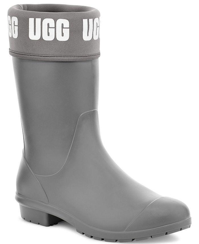 UGG® - Women's Sienna Matte Graphic Rain Boots