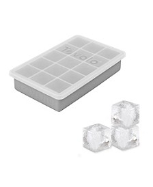 Perfect Cube Silicone Ice Tray With Lid