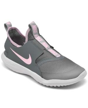 Nike Leathers LITTLE GIRLS FLEX RUNNER SLIP-ON RUNNING SNEAKERS FROM FINISH LINE