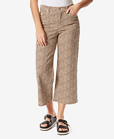 Amanda Wide Leg Crop Jeans