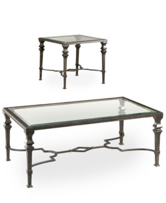 CLOSEOUT! Novato Tables, 2-Piece Set (Coffee Table and End Table)
