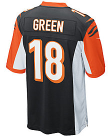 Nike Kids' AJ Green Cincinnati Bengals Game Jersey, Big Boys (8-20)
