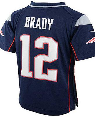 Nike Baby Tom Brady New England Patriots Game Jersey ...