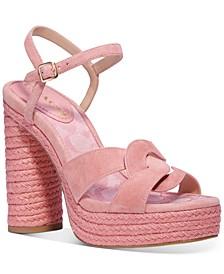 Women's Talina Platform Woven Dress Sandals