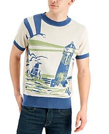 Men's Scott Lighthouse Jacquard Sweater