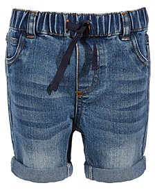 Toddler Boys Authentic Wash Denim Shorts, Created for Macy's