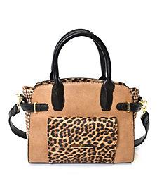 Imoshion Handbags Women's Leopard Print Satchel