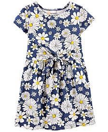 Toddler Girls Daisy Jersey Dress